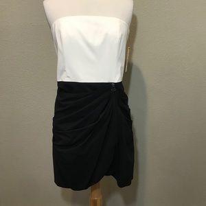Alice + Olivia Sara Strapless Drape Dress Size 10